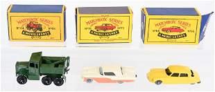 MOKO LESNEY MATCHBOX SERIES #64 #66 & #75 MIB