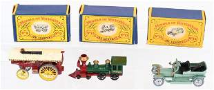 LESNEY MATCHBOX MODELS OF YESTERYEAR #9 #13 & #15