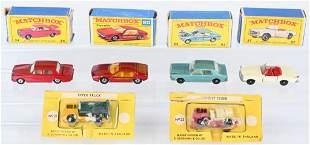 6- LESNEY MATCHBOX CARS w/ BOXES