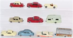 10- LESNEY MATCHBOX GRAY WHEEL CARS & TRUCKS