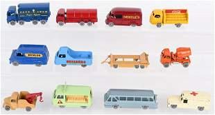 11- LESNEY MATCHBOX GRAY WHEEL CARS & TRUCKS