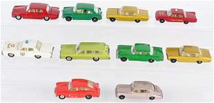 10- EARLY LESNEY MATCHBOX CARS