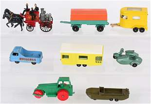 LOT OF EARLY LESNEY MATCHBOX CARS & MORE