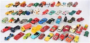 HUGE LOT OF VINTAGE DIECAST CARS & TRUCKS