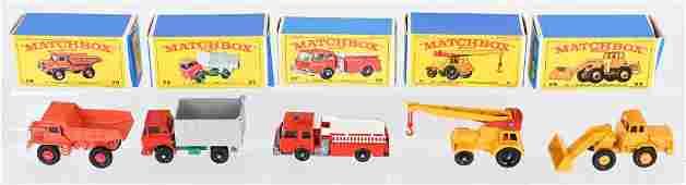 5- EARLY MATCHBOX CARS MIB