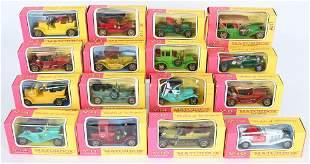 16- MATCHBOX MODELS OF YEASTERYEAR CARS MIB