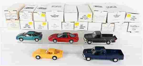 20- 1980s-90s GENERAL MOTORS PROMO CARS MIB