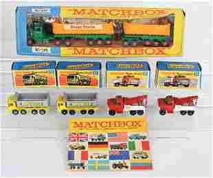 4- MATCHBOX SUPERFAST CARS MIB & KING SIZE K-16