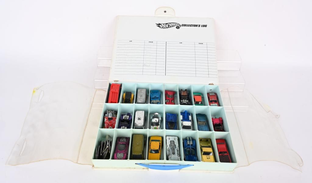 20+ HOT WHEELS RED LINES CARS & CASE