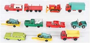 LOT OF VINTAGE MATCHBOX CARS