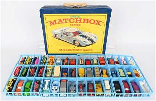 48- MARCHBOX CARS IN COLLECTORS CASE