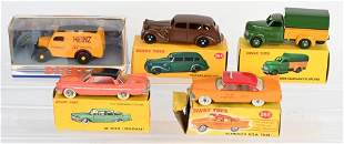 5- DINKY DIECAST CARS & TRUCKS w/ BOXES