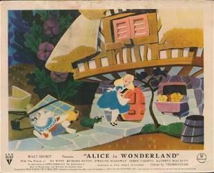 ALICE IN WONDERLAND ORIGINAL STILLS - LOT OF 40