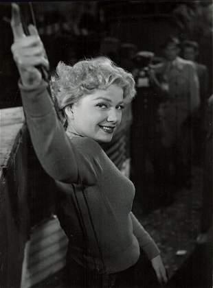 34-ANNE BAXTER ORIGINAL CANDID & PORTRAIT STILLS