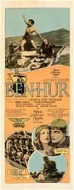 BEN-HUR (1925) PAPERBACKED INSERT
