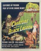 CREATURE FROM THE BLACK LAGOON TRIMMED WINDOW CARD