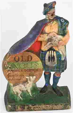 OLD ANGUS SCOTCH NAPCO ADVERTISING FIGURE