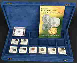 9- ANCIENT BRONZE COINS