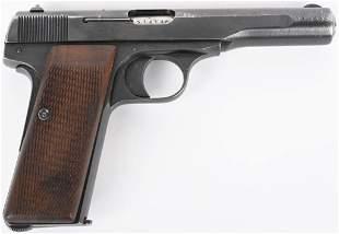 WW2 GERMAN INSPECTED FN MODEL 1910/22 .7.65 PISTOL