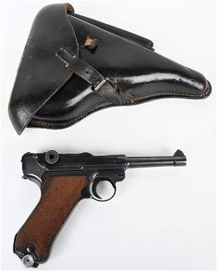 WW2 BYF41 CODE GERMAN LUGER RIG BY MAUSER
