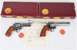 RARE DOCUMENTED 2 GUN COLT CUSTOM COBRA SET