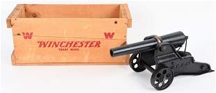 CRATED WINCHESTER MODEL 1898 SIGNAL 10 GA CANNON