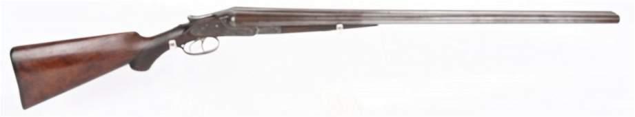 LEFEVER 12 GA DOUBLE BARREL HAMMERLESS SHOTGUN