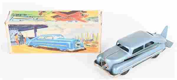 US ZONE GERANY TIN WINDUP AERO-CAR w/ BOX
