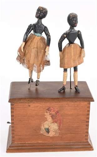 IVES CLOCKWORK DOUBLE DANCERS
