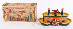 GO-TOY #200 FERRYGO BOAT w/ BOX