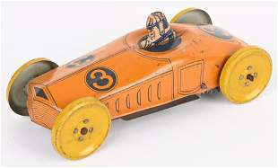CHEIN TIN WINDUP #3 RACE CAR