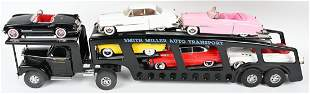 SMITH MILLER AUTO TRANSPORT w/ 6 CARS