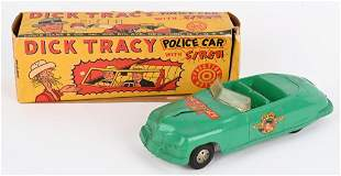 MARX DICK TRACY POLICE CAR w/ BOX