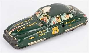 MARX TIN WINDUP DICK TRACY SQUAD CAR