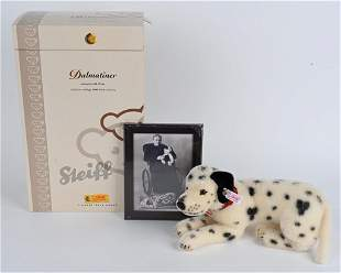 STEIFF DALMATINER w/ PHOTO & BOX