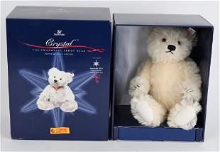 2005 STEIFF CHRISTMAS CRYSTAL TEDDY BEAR w/ BOX