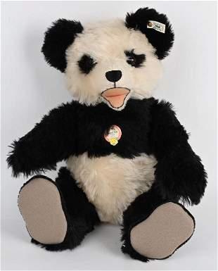 STEIFF PANDA BEAR REPLICA 1951