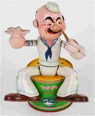LINEMAR BATTERY OP SMOKING POPEYE
