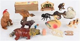 VINTAGE TOY LOT TIN WINDUPS and MORE