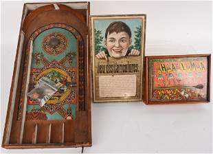 3- ANTIQUE GAMES AND PUZZLE
