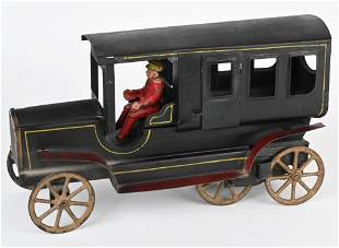 EARLY DAYTON FRICTION LIMOUSINE w/ DRIVER