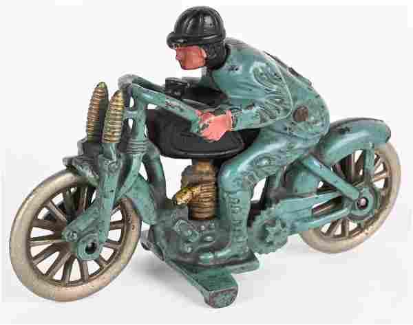 HUBLEY CAST IRON HILLCLIMBER MOTORCYCLE