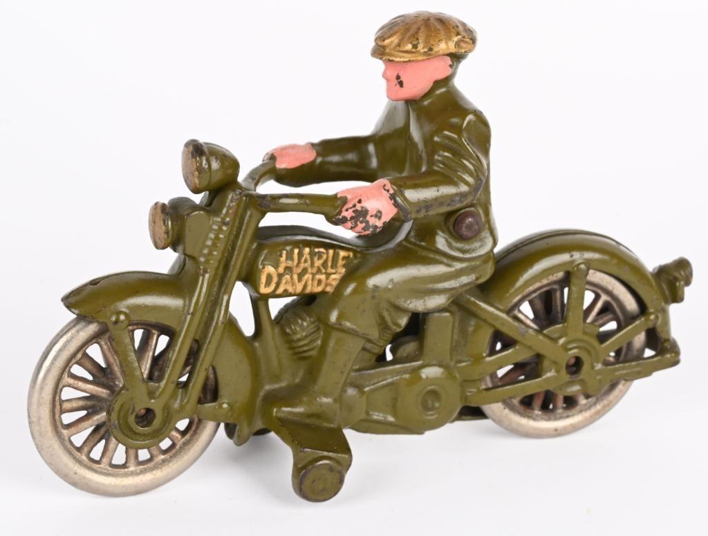 HUBLEY CAST IRON CIVILIAN MOTORCYCLE