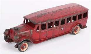 "KENTON CAST IRON SLANT WINDOW BUS 8"""