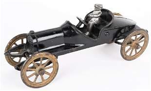 EARLY HUBLEY CAST IRON SPEEDSTER RACE CAR