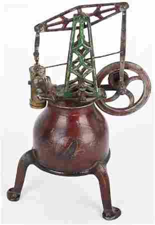 FRISBIE'S CAST IRON STEAM ENGINE PAT.1871