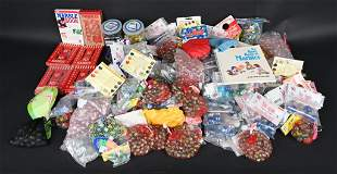 HUGE LOT OF NEW OLD STOCK MARBLES IN PACKS