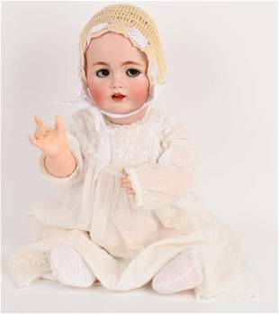 GERMAN BISQUE KESTNER 257 CHARACTER BABY DOLL