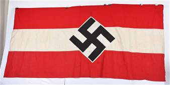 WWII NAZI GERMAN HITLER YOUTH WALL BANNER WW2