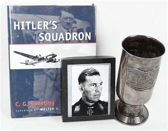 WWII NAZI GERMAN LUFTWAFFE EHRENPOKAL HONOR GOBLET